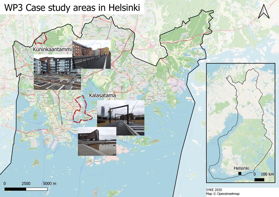 helsinki - WP3 - study site