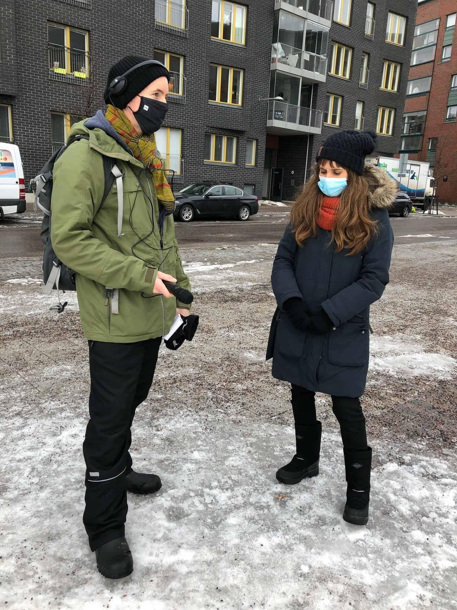 Vesa Marttinen interviews Silviya Korpilo